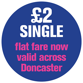 £2 fare in Doncaster