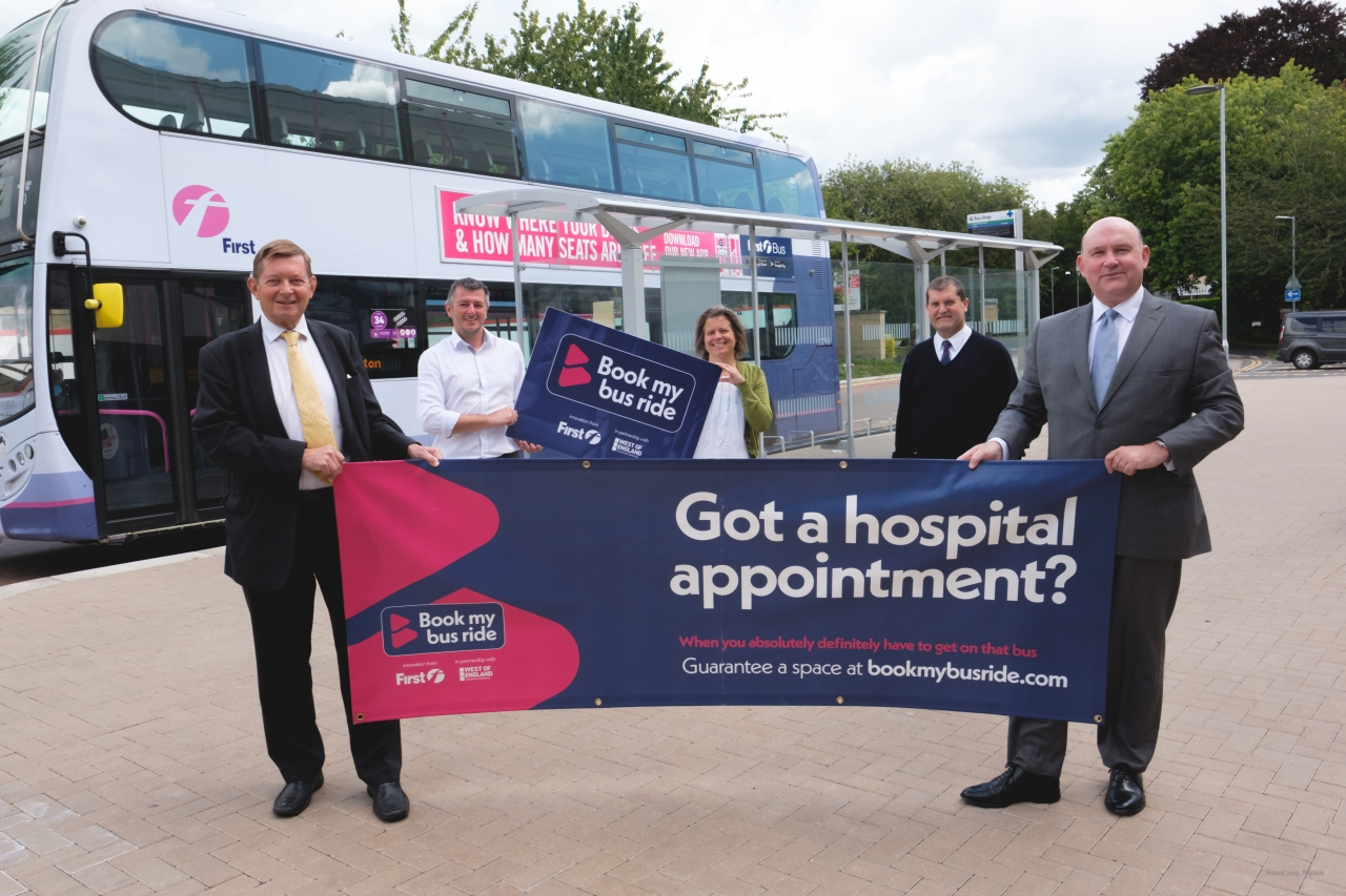 Book my bus ride launches in Bath