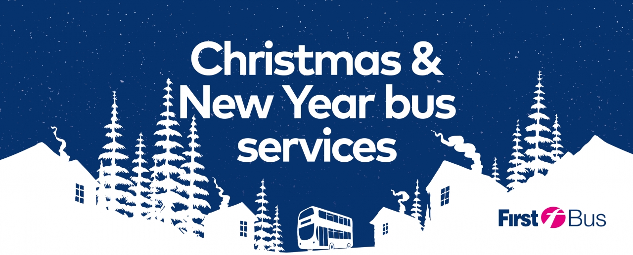 First Bus Christmas and New Year services