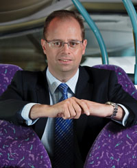 first bus southampton managing director marc reddy