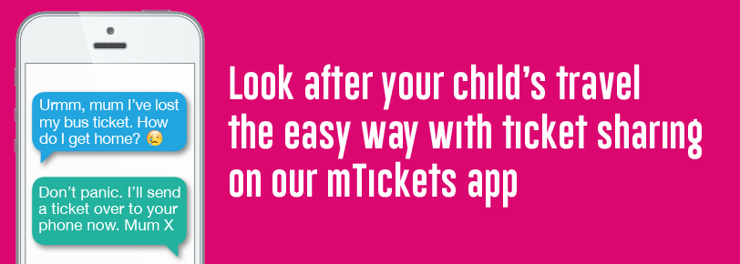 mtickets app look after your child's ticket banner