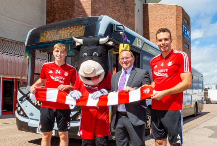 Aberdeen Football Club's Official Public Transport Partner