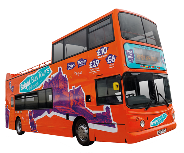 Bright Bus Tours, open top bus