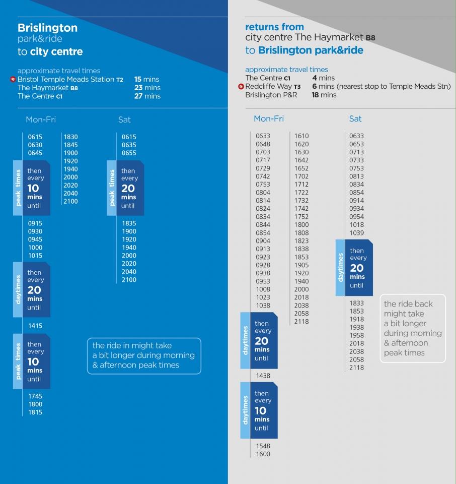 Brislington Park & Ride   Bristol, Bath and the West   First Bus