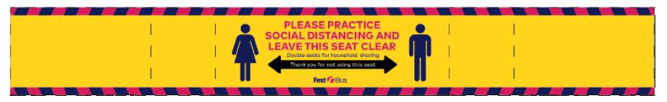 Seat sign