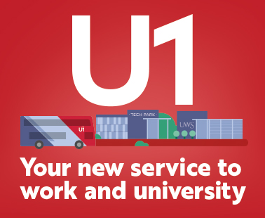 U1 Bus Route | Greater Glasgow | First Bus