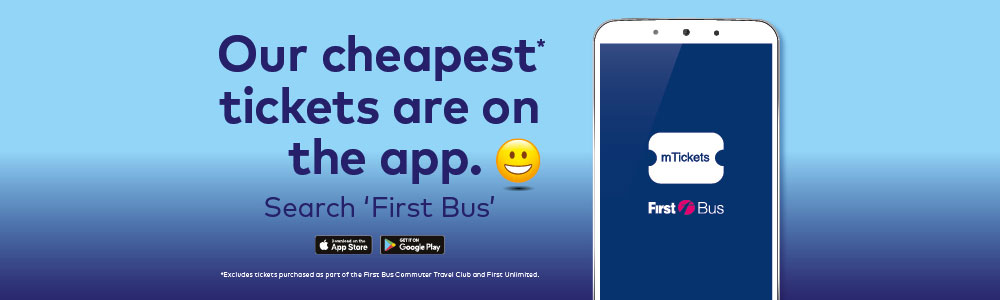 our cheapest tickets are on the first bus app