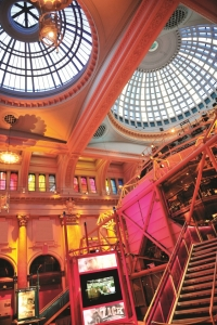 Royal Exchange Theatre foyer view Manchester