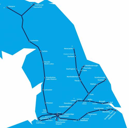 Transpennine Express Route Map TransPennine Express | Greater Manchester | First Bus