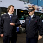 First Bus helping customers with sight issues