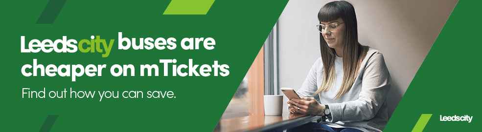 Leedscity buses are cheaper on mTickets. Find out how you can save.