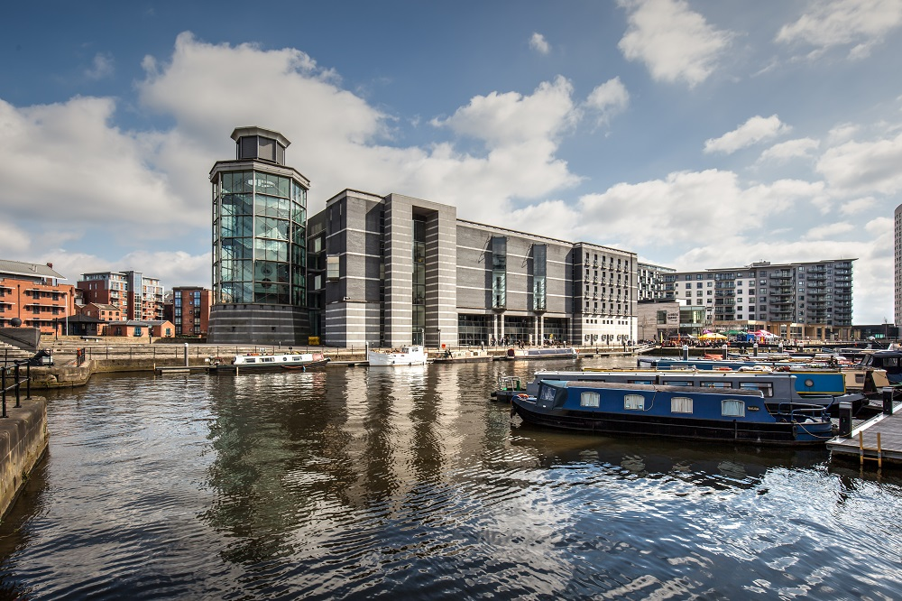 royal armouries museum leeds clarence dock view