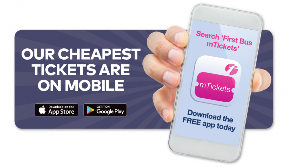 cheaper tickets on first bus mtickets mobile app header