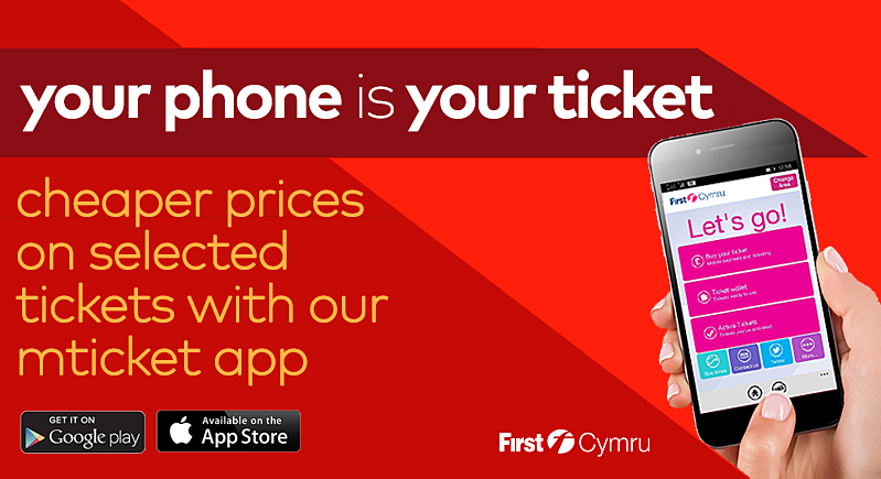 first bus stay ahead with our mtickets app banner