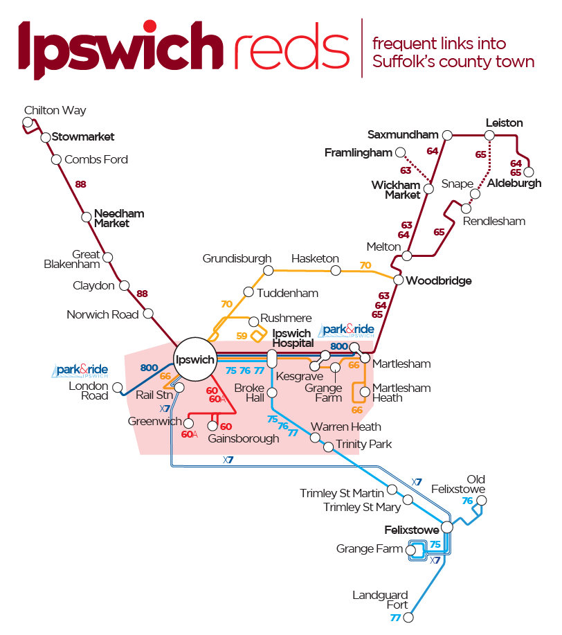 first essex bus timetable 65
