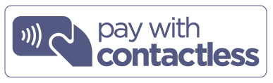 pay with contactless logo 30 30A norfolk suffolk navy text