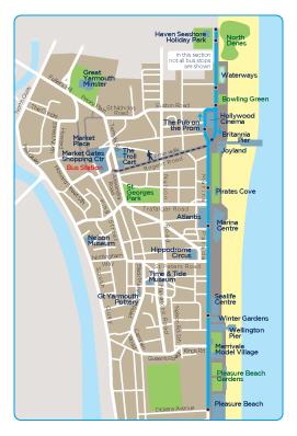 Great Yarmouth Seasider 3 | Norfolk & Suffolk | First Bus