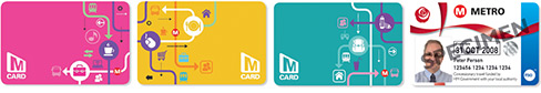 first bus metro cards