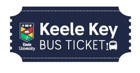 Keele University Keele Key bus ticket
