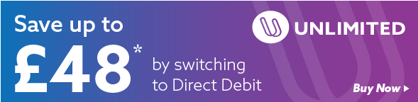 direct debit tickets savings save £48 banner first bus