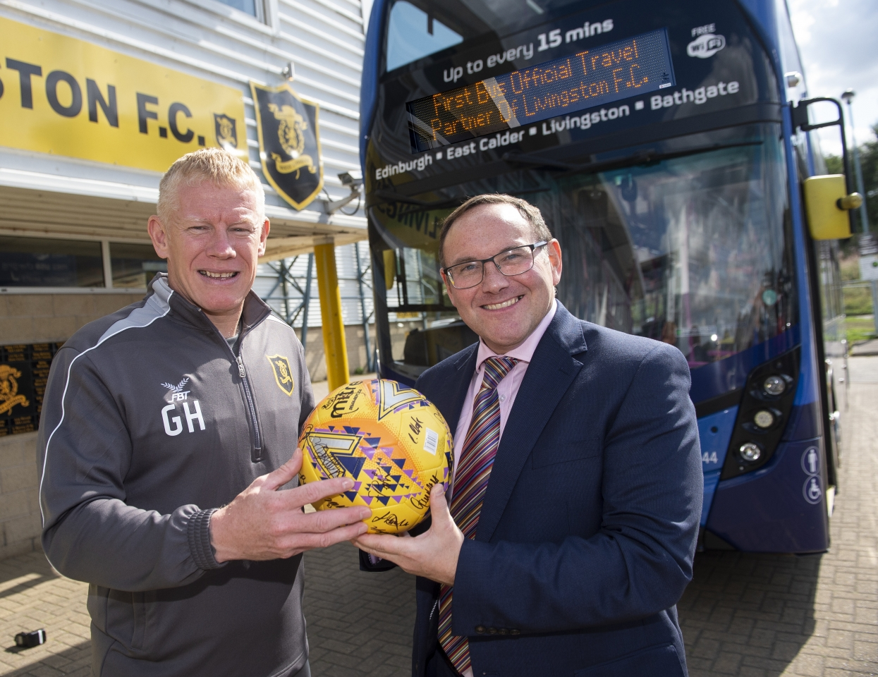 First West Lothian partnership with Livingston FC