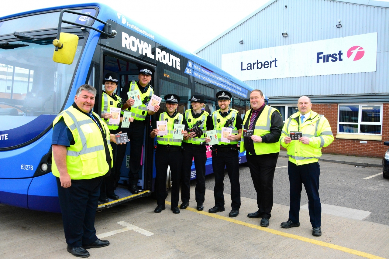 first bus police partnership scotland operation monardafirst bus police partnership scotland operation monarda