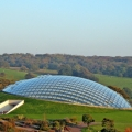 National Botanic Garden of Wales Carmarthenshire outside view