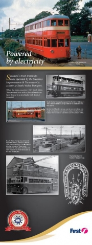 First Cymru electric bus leaflet
