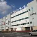 Liberty stadium swansea external view