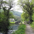 neath canal towpath view