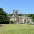 margam castle distant outside view