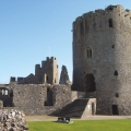 pembroke castle outside view