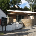 Aberdulais Tinworks and Waterfall visitor centre entrance