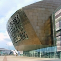Wales Millenium centre cardiff outside view