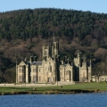 margam park abbey and orangery hall outside view