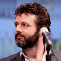 michael sheen with microphone