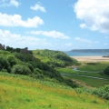 pennard cliffs scenery view