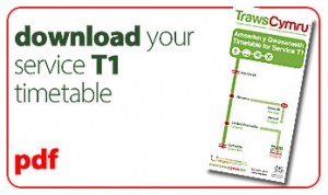 download your t1 service timetable icon