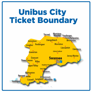 first bus unibus city ticket boundary