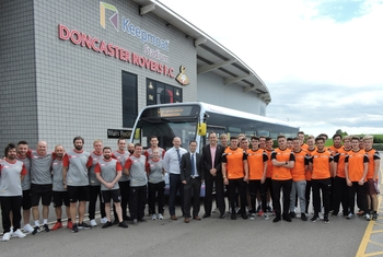 First South Yorkshire Club Doncaster Foundation group image