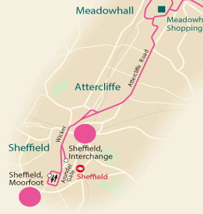 Network maps   South Yorkshire   First Bus