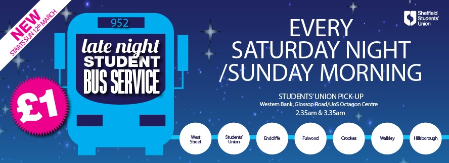 New Late Night Student Bus Service