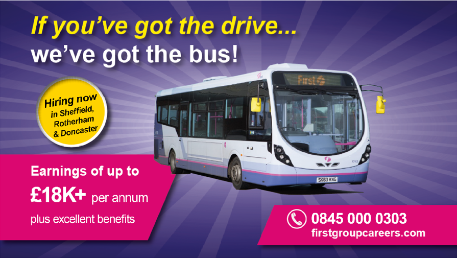 If you've got the drive, we've got the bus!
