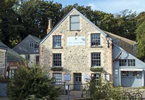 The Mill at Lyme Regis was lovingly restored by volunteers and is steeped in history.