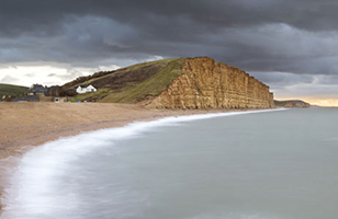West Bay is the home of the fictional ITV Television series Broadchurch