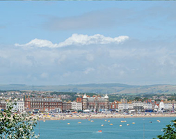 Visit the historic waterfront town of Weymouth in Dorset