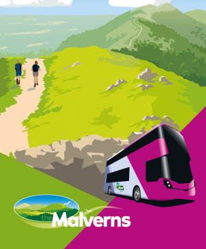 first bus the malverns animated image