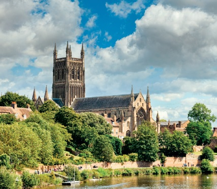 worcester cathedral river severn