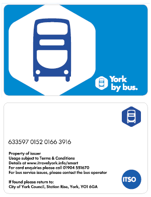 york by bus first travel pass park and ride