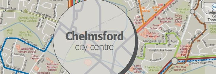 Chelmsford Network Map